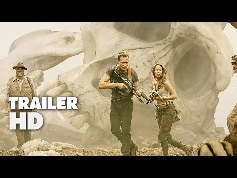 Kong Skull Island - Official Comic-Con Trailer 2017 - Tom Hiddleston Movie HD