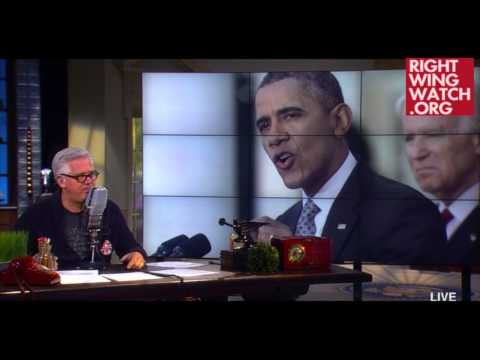 RWW News: Beck Loses It Over Obama's Health Care Remarks