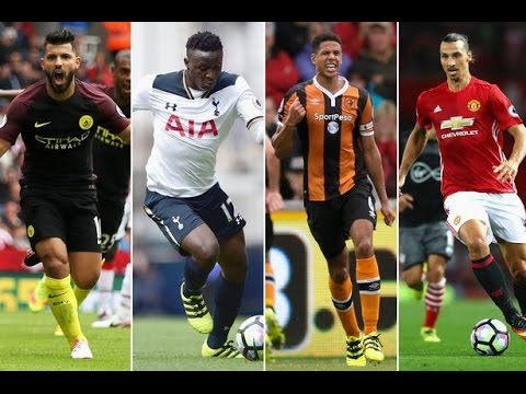 EPL 2016/17 All Goals Week 4 HD