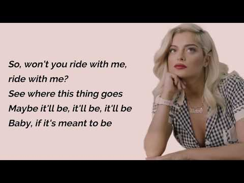 Video Meant To Be - Bebe Rexha Feat. Florida Georgia Line (Lyrics) download in MP3, 3GP, MP4, WEBM, AVI, FLV January 2017