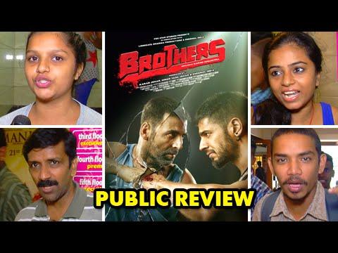 Brothers Public Review | Akshay Kumar, Sidharth Ma