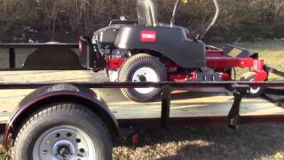 6. Toro TimeCutter 74765 Steel Trailer Package Deal Review