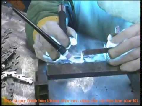 Quy trình công nghệ hàn trong gia công cơ khí