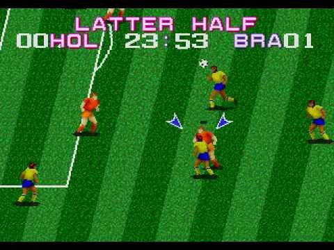 tecmo world cup sega genesis