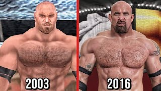 The evolution of Goldberg in WWE Games from Wrestlemania XIX to WWE latest game WWE 2K17.Subscribe to Bestintheworld https://goo.gl/bh0dMlFollow me on Twitter https://goo.gl/g2hpKr