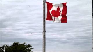 Kincardine (ON) Canada  city pictures gallery : Canada Day in Kincardine flag raising July 1, 2014 MOV