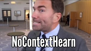 Eddie Hearn No Context Compilation
