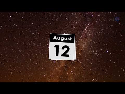 Nature's firework show - The Perseid meteor shower