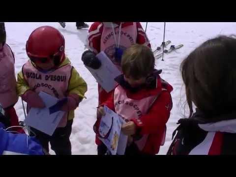 kikeadventure - Kike skiing gold medal award (видео)