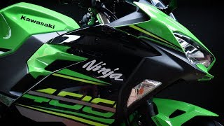 7. The Kawasaki  Ninja 400 2018