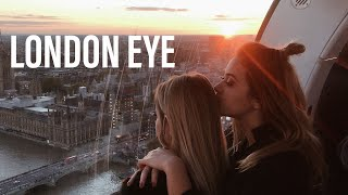 WIDOK Z LONDON EYE, CUKIERNIA Z INSTAGRAMA | Olciiak