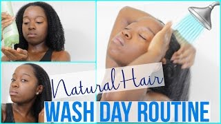 Hey everyone! In today's video I will be sharing my wash day routine for my natural hair! Save 50% off the Scalp Massaging Shampoo Brush, use code BEE50 at checkout: http://vpwow.com/bee50Whenever I use shampoo, I like to use a sulfate shampoo to get rid of build up. I also like to use my Scalp Invigorator from Vanity Planet to help with blood circulation and increase hair growth! I then follow up with deep conditioning my hair using Avocado, Jojoba, Grapeseed and Coconut Oil. After that I style my hair for the day! Most of the times I style my hair in a braid out!Check out my new VLOG Channel!!! http://bit.ly/1VMWHtqK E E P U P W I T H M E Instagram: @aprilbeee_http://bit.ly/1Rv8bBwSnapchat: @aprilbeee1Facebook: April Beeehttp://on.fb.me/1MqdCeDTwitter: @aprilbeee_http://bit.ly/1HqTEPEF O R   B U S I N E S S   I N Q U I R I E S Email: april.beee1@gmail.comM U S I C:http://bit.ly/2cte30iT H A N K S   F O R   W A T C H I N G !!!FTC: Sponsored by Vanity Planet. All opinions are my own.