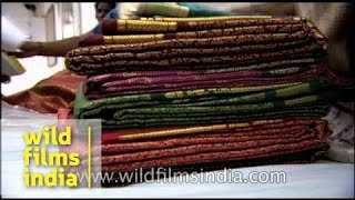 Kanchipuram India  city photos gallery : Kanchipuram silk sarees for sale - India