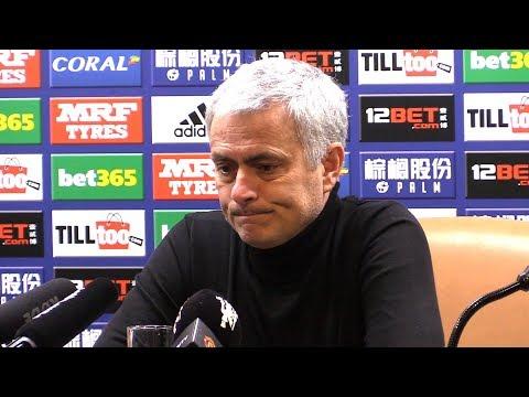 Jose Mourinho Full Pre-Match Press Conference - Bristol City v Manchester United - Carabao Cup (видео)