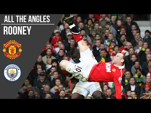 Wayne Rooney's Bicycle Kick V Man City Goal | All The Angles | Manchester United