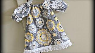 Video Baby Dress (Sewing For Beginners) MP3, 3GP, MP4, WEBM, AVI, FLV Juli 2018