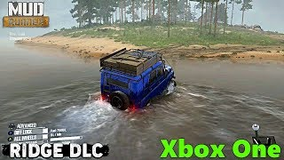 SpinTires MudRunner: The Ridge DLC, XBOX ONE GAMEPLAY AND NEW MAP AREAS! AN ISLAND!