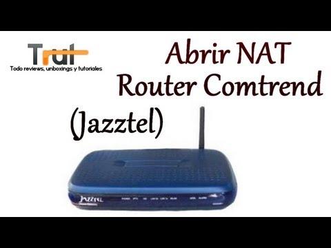 ] Abrir NAT Router Comtrend (Jazztel), un video sobre comtrend-ar