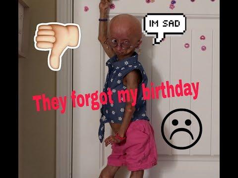They forgot about my birthday skit