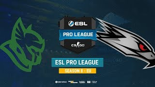 Heroic vs AGO - ESL Pro League S8 EU - bo1 - de_train [Smile, MintGod]