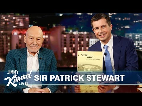 Guest Host Mayor Pete Buttigieg Interviews Sir Patrick Stewart