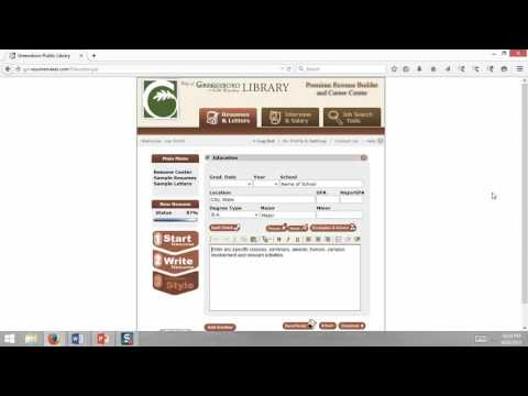 ResumeMaker Tutorial