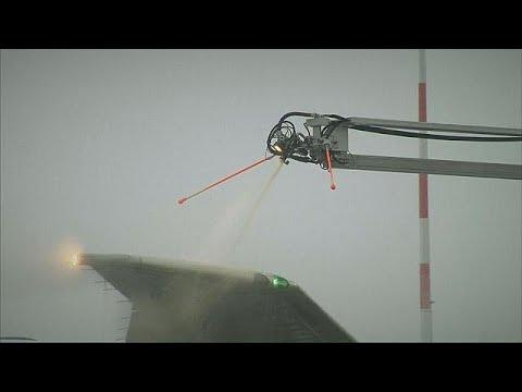 Νέα τεχνολογία αποπάγωσης για ασφαλείς πτήσεις