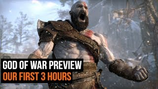 God of War Hands-on - The First 3 hours - Preview