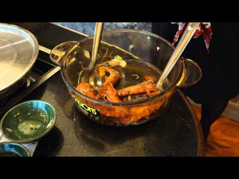 Cooking Live Shrimp – New Menu Inspiration or Not…