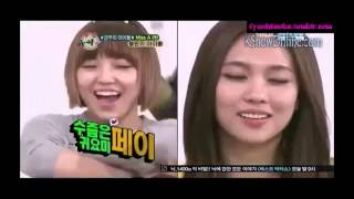 [ENG SUB] 121121 Weekly Idol Ep 70 Miss A Part 2