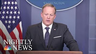 Sean Spicer, one of the most high-profile members of the Trump administration, abruptly announced his resignation Friday, ...