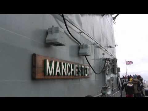 HMS Manchester - Farewell Manchester