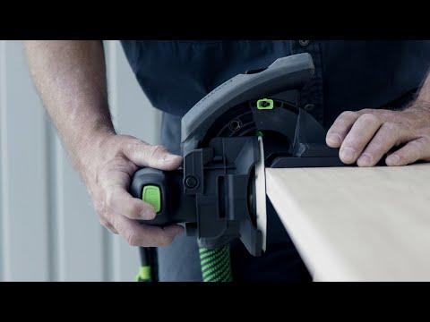 Видео Шлифмашинка для обработки кромок ES-ETSC 125 3,1 I-Plus