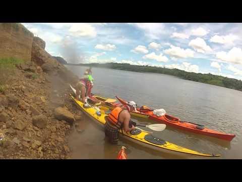 Iguazú al encuentro internacional de canotaje