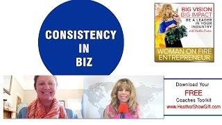 Episode #76 : Consistency in Biz with guest  Katie Wyatt