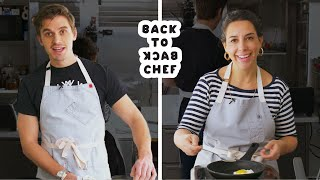 Video Queer Eye's Antoni Porowski Tries to Keep Up with a Professional Chef | Back-to-Back Chef MP3, 3GP, MP4, WEBM, AVI, FLV Mei 2019