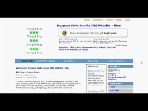 Discover Joomla CMS!
