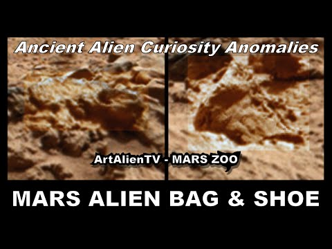 MARS – BAG & SHOE: Ancient Alien Curiosity Anomalies. ArtAlienTV – MARS ZOO 1080p