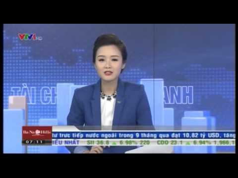 Bản tin tài chính kinh doanh VTV1 buổi sáng ngày 6/10/2015