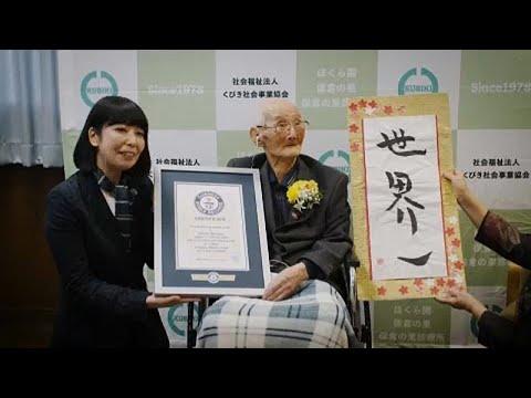 Japan: Abschied vom ältesten Mann der Welt wenige Tag ...