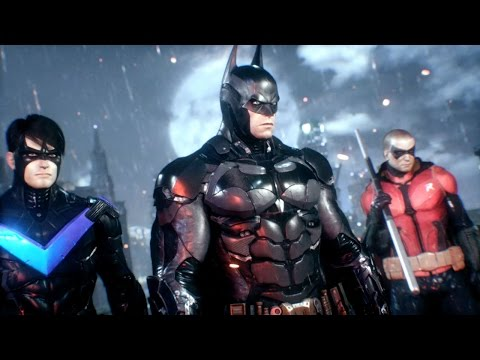 nuovissimo trailer hd di batman arkham knight con robin e nightwing!