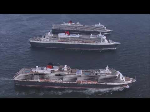 Παγκόσμιες κρουαζιέρες με την Cunard