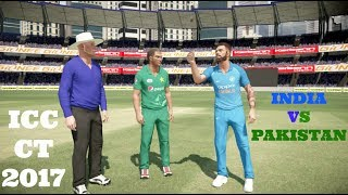 ICC CHAMPIONS TROPHY : MATCH 4 : INDIA VS PAKISTAN The Greatest Cricketing Rivalry Ever.
