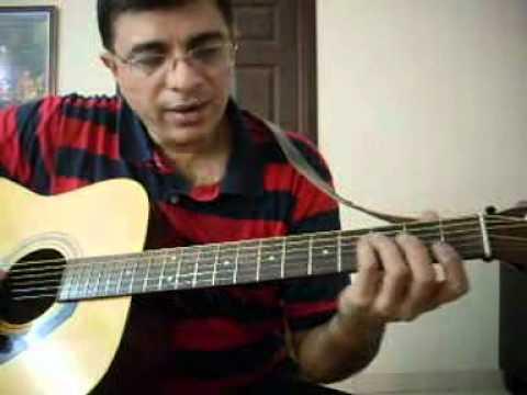 Nenjukkul Peidhidum Intro Lead guitar lesson | Riff Channel