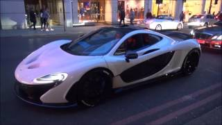 This is in my opinion the best McLaren P1 on Earth. The car looks spectacular in white and the blue accents make it look that little more special. The PUR ri...