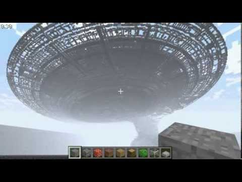 starship - This is the beginning framework of the Enterprise - D in Minecraft ----- I didn't think this would go viral so quickly! It's not even done and on top of that...