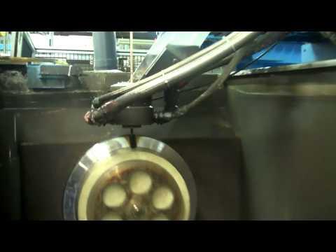 GE's 'Superman' Blue Arc Machine Cuts Speedy Metal Blades