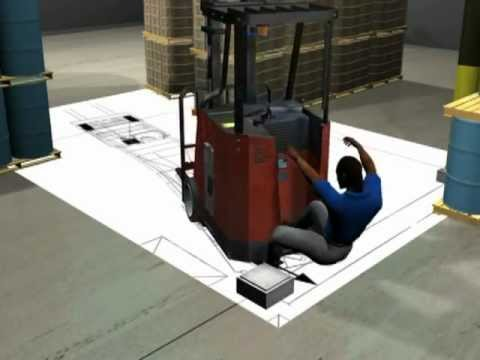 Image of Demonstrative Evidence: Forklift Mishap