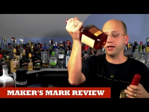 Maker's Mark review by Common Man Cocktails on YouTube