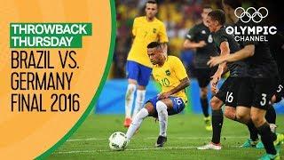 Download Video Brazil vs Germany - FULL match - Men's Football Final Rio 2016 |Throwback Thursday MP3 3GP MP4